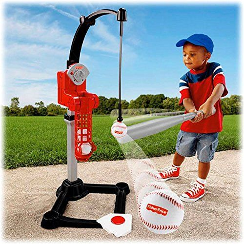 Best gift for boys 4 years old- Fisher-Price Better Batter Baseball