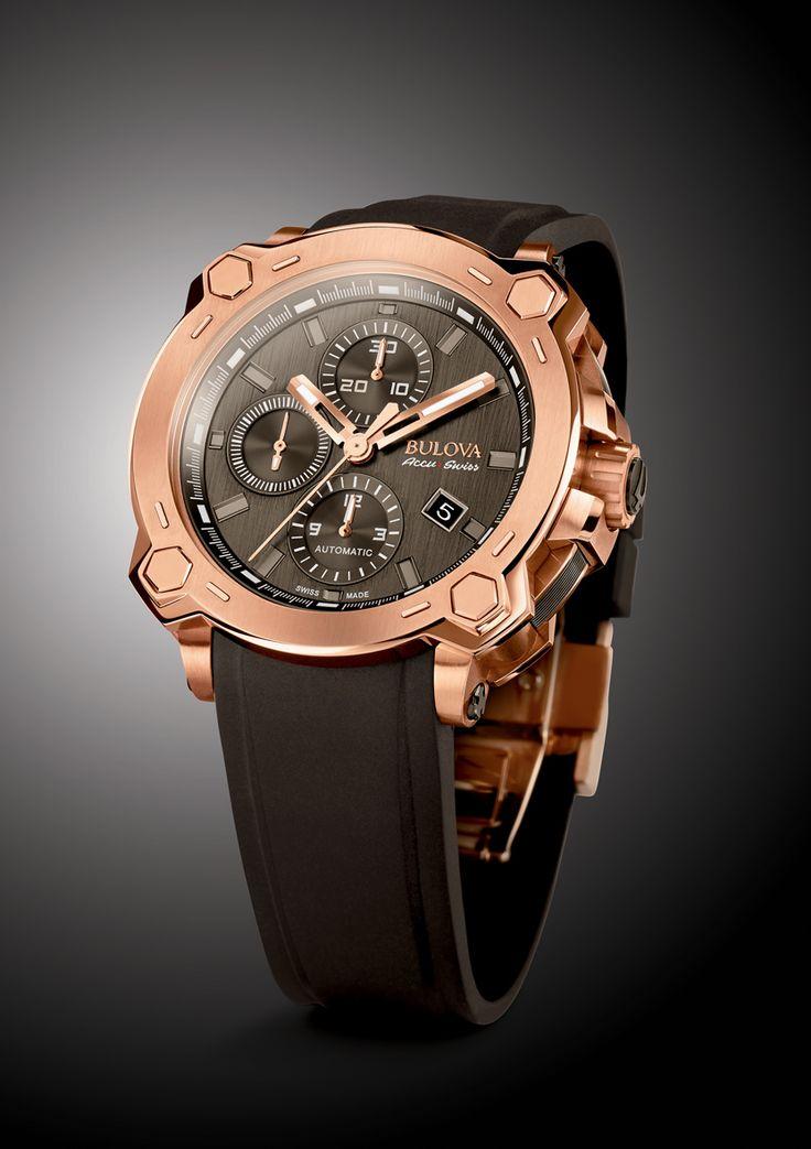 Basel 2015 - Bulova AccuSwiss Percheron Chronograph