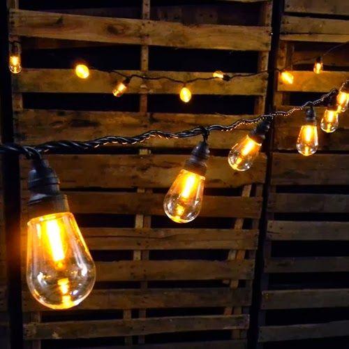 Edison Bulb Wedding Lighting