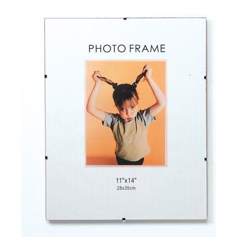 11x14 inch frameless clear poster frames feature a sleek glass from and clip closures. This modern style is great for small posters, art print displays and more. Shop our poster frames today.