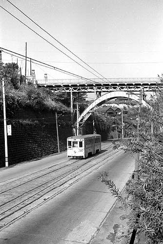 1962年横浜市電山元町