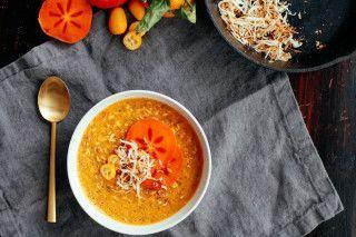Turmeric Persimmon Porridge Nutrition Stripped