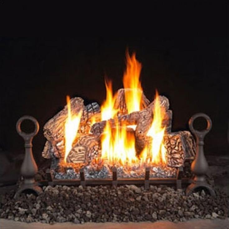 Napoleon Vent Free Fireplace Gas Log Sets   GVFL24P