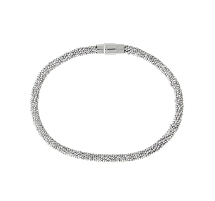 Sterling Silver Attraction Bracelet (3mm)
