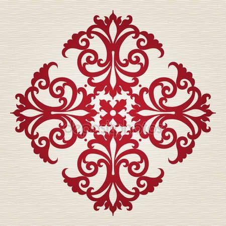 Viktorya tarzı Barok süsleme — Stok İllüstrasyon #39570287