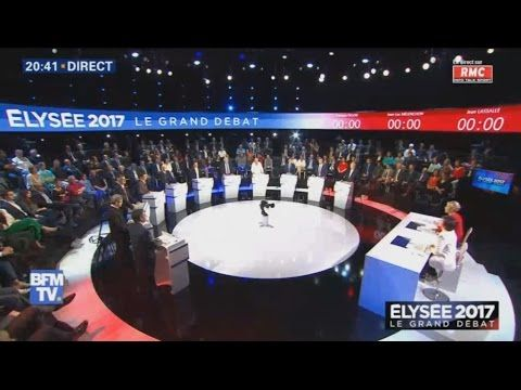 Le journal de BORIS VICTOR : Elysée 2017 - Le Grand Débat Présidentiel - Replay...