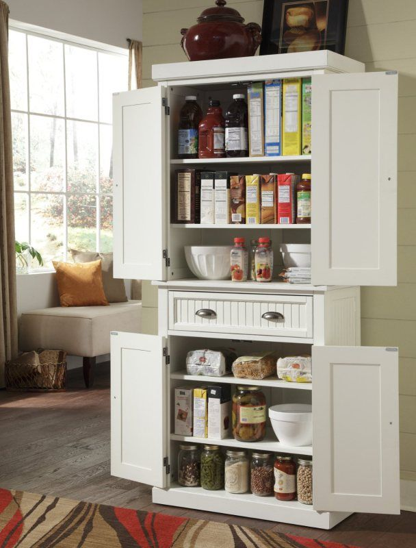 no pantry kitchen solution - Kitchen Pantry Ideas Small Kitchens