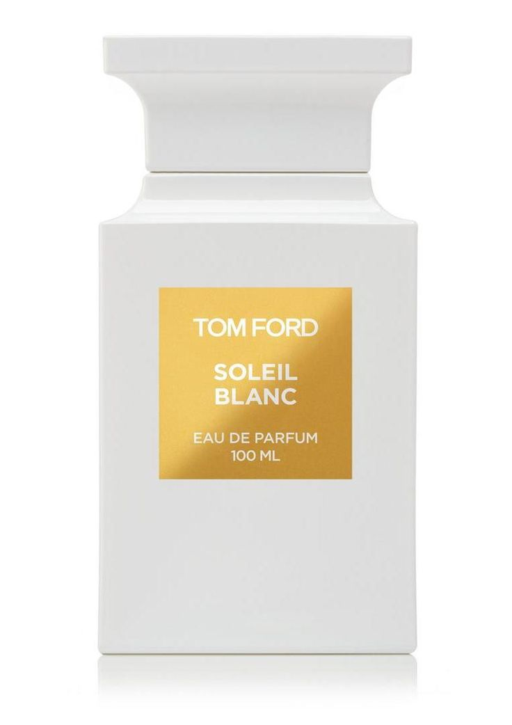 Smartologie: TOM FORD 'Soleil Blanc' New Fragrance 2016