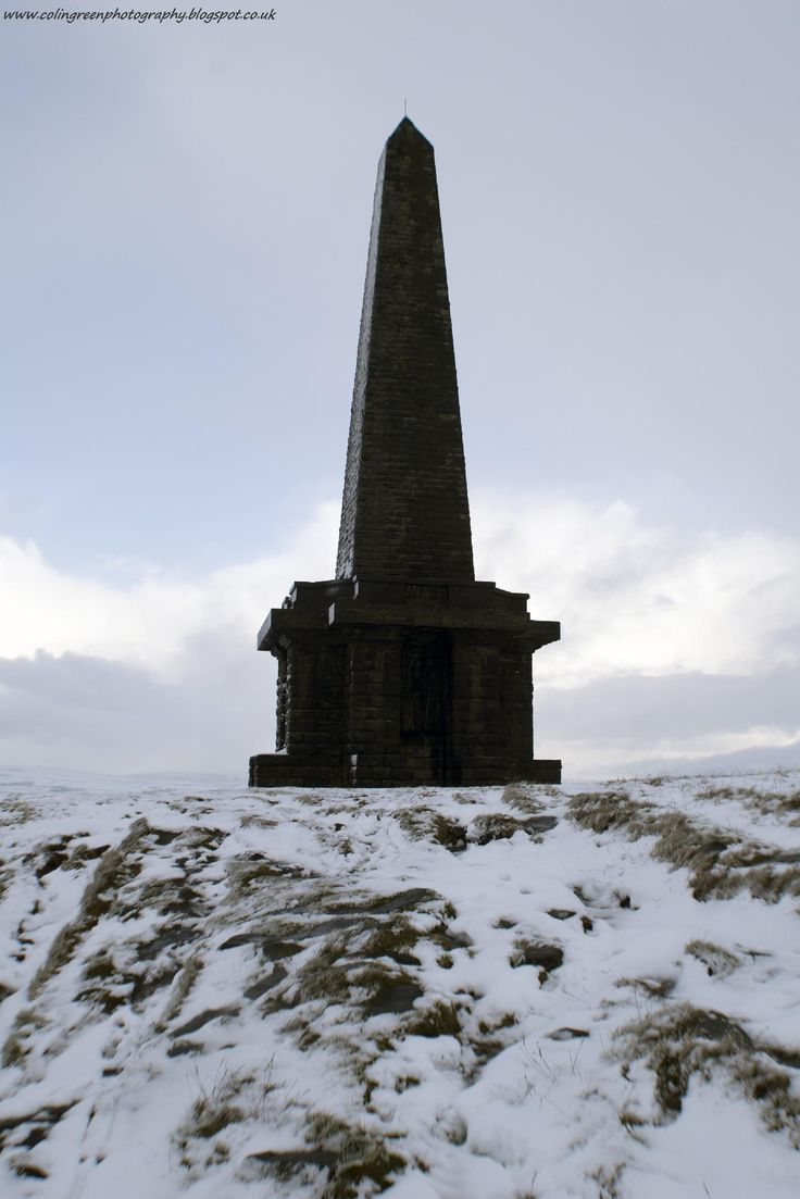 Taken at Stoodley Pike above the town of Todmorden, West Yorkshire. I walked up to take the picture as the first snow of this winter had fallen and I wanted to picture the monument with snow as a feature. This picture was taken on the 19 November 2016.