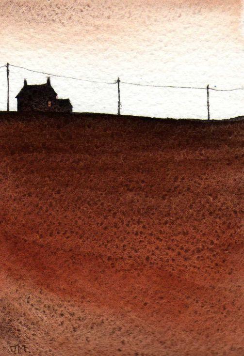 ARTFINDER: Rustic. by JULIE MORRIS - Painted with Burnt Tigers eye.
