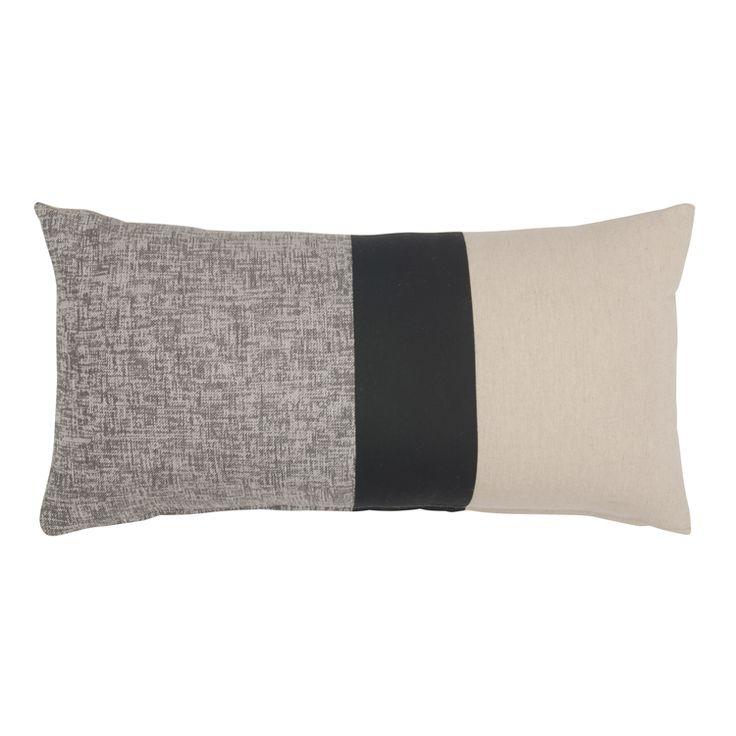 cushion colour block 60x30cm
