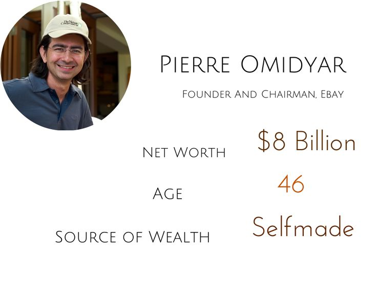 pierre omidyar, billionaire, bio, net worth, rich successful, ebay - mark zuckerberg resume