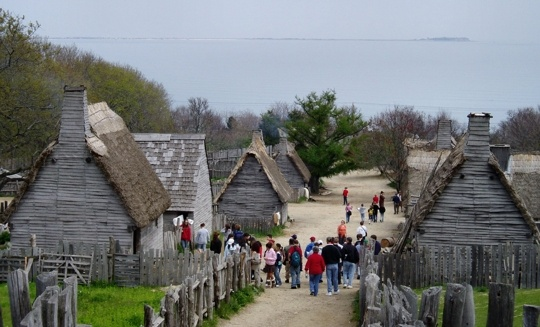 Plymouth Plantation Mass.