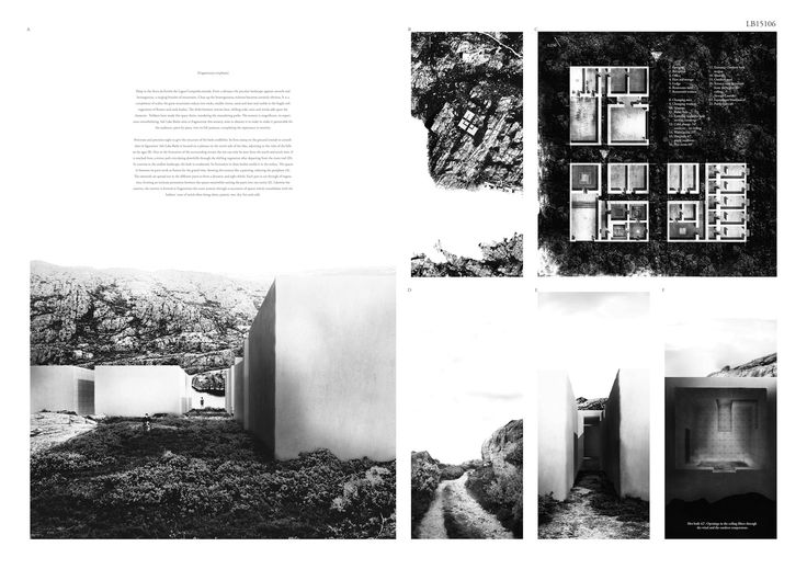 Concurso Internacional Site Lake Baths, Serra da Estrela, Portugal 3er Premio: Louise Husman (Suecia)