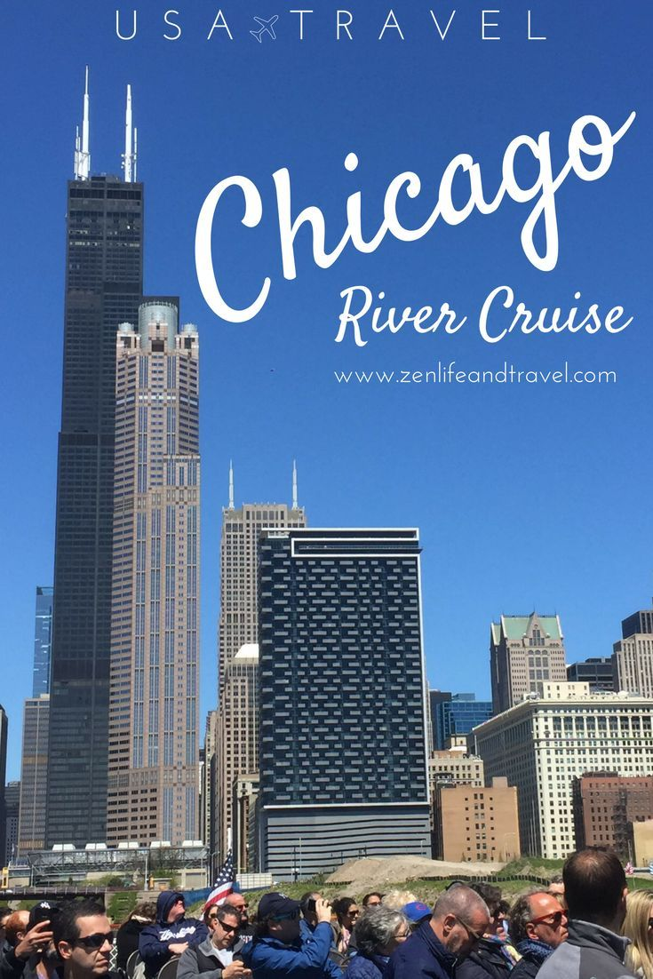 Looking for a fun activity to do in Chicago?  Try a river cruise!  It was one of our favorite ways to see the city. | Chicago River Cruise on Chicago's First Lady | Chicago Architecture Foundation | Chicago, IL (USA) | USA Travel | Things To Do In Chicago | #chicago #chicagorivercruise #usatravel