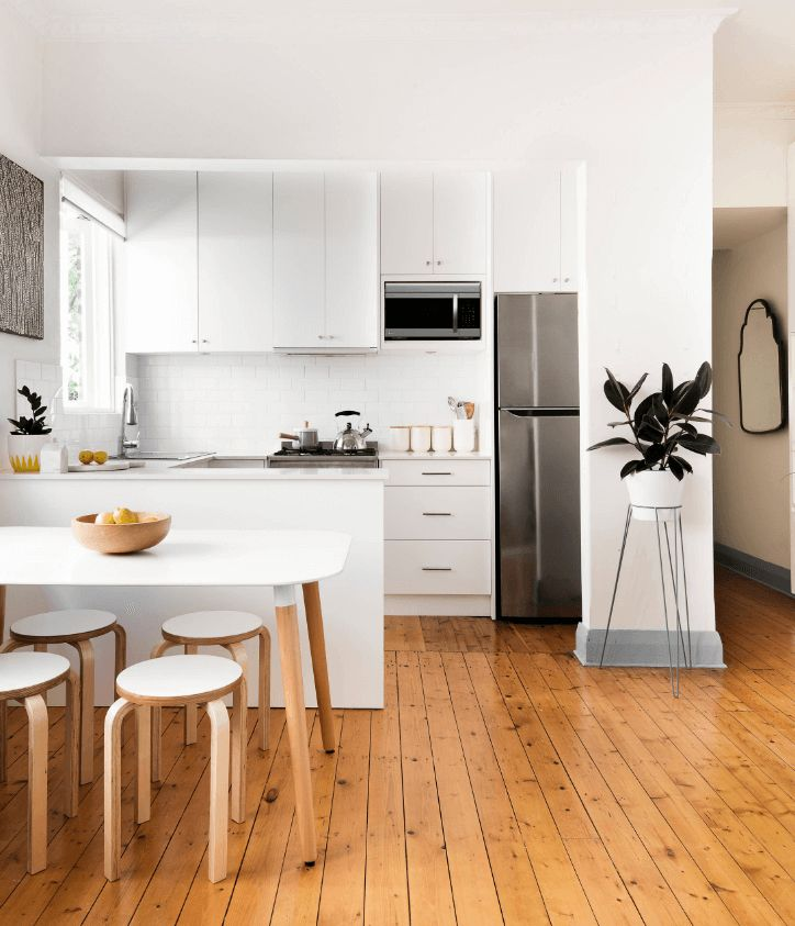 Contemporary Kitchen With Scandinavian Minimalism Design Libby Winberg Interiors