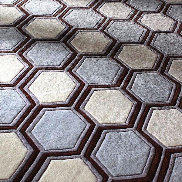 Hexagon Area Rugs Home Decor