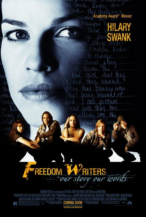 Freedom Writers (2007): High Schools English, Fav Moviesshow, Movie Worth, Freedom Writers, Movie Segment, Teacher, Favorite Movie, Hilarious Swank, Writers 2007