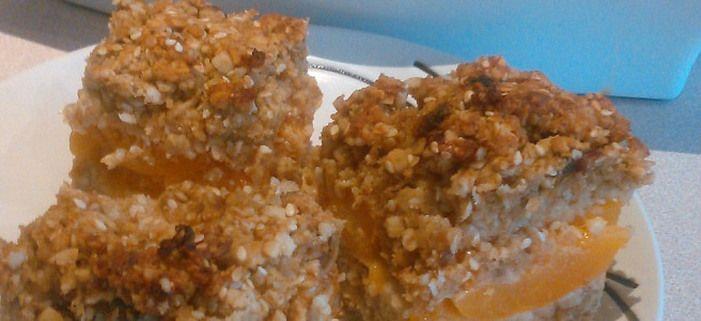 Revive cookbook: Apricot Oat Slice
