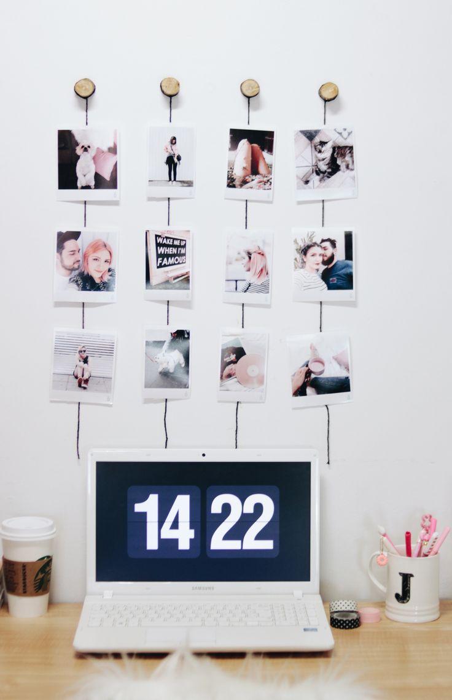 video 4 diy com fotos inspirados no pinterest e no tumblr para decorar sua casa