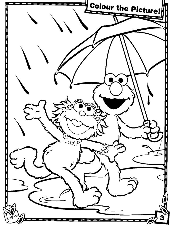17 best elmo images on Pinterest Sesame streets Colouring pages