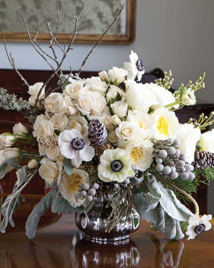 Best 25 winter flower arrangements ideas on pinterest winter floral arrangements christmas - Best dried flower arrangements a colorful winter ...