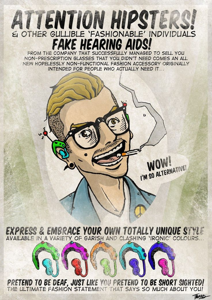 Attention hipsters!