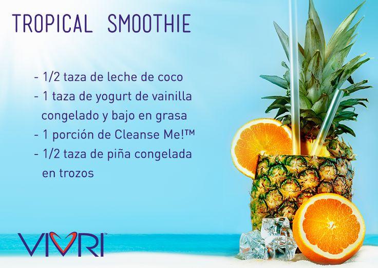 #VIVRI #receta #CleanseMe #smoothie #shake #malteada #yummy