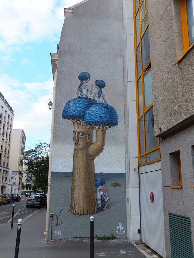 Street art-Seth