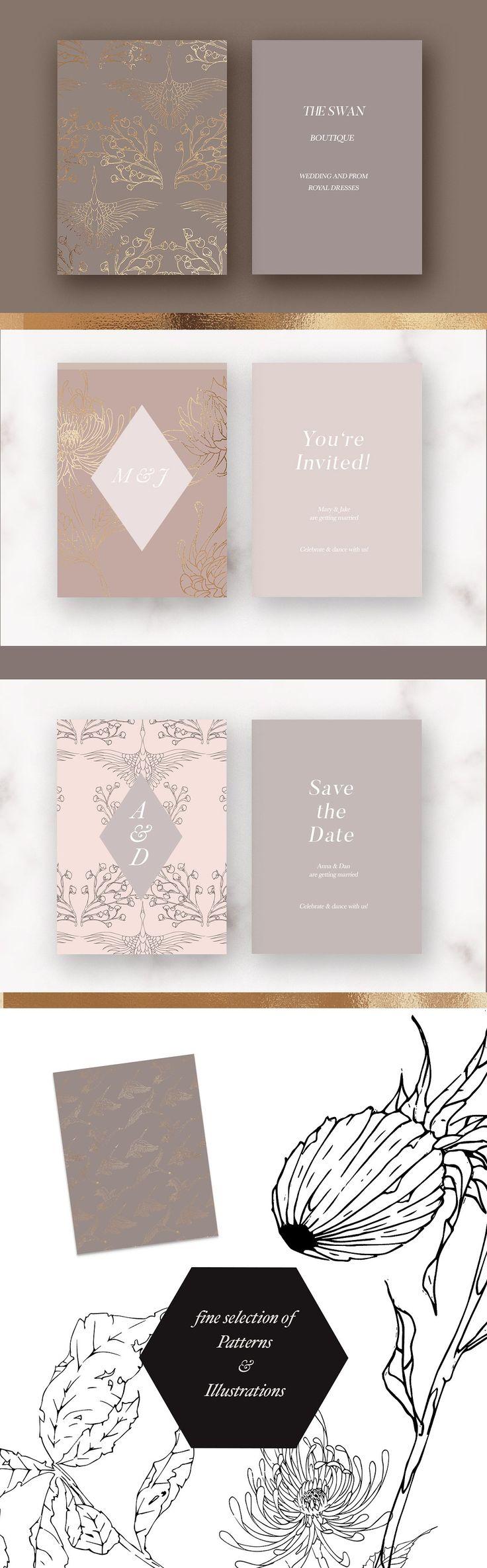 95 Best Wedding Stationery Images On Pinterest Stationery Design