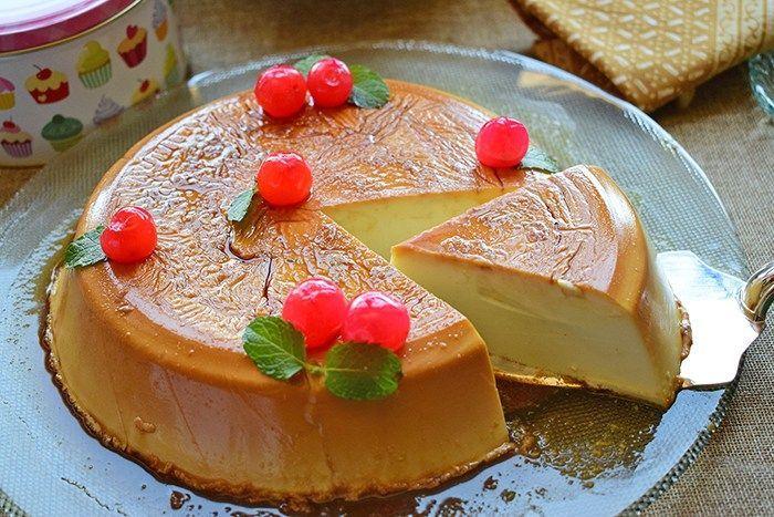 Esta receta de flan de queso es muy fácil de preparar, se hace con poquitos ingredientes y sin necesidad de utilizar huevos ni horno. Si la probáis, veréis