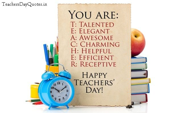 Teacher is lamp of nation. Teacher only one person Who serve society in real manner. Salute all teachers of nation.  Wish you Happy Teachers Day