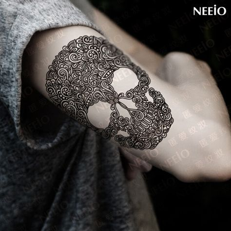 Resultado de imagen para tatto craneo man