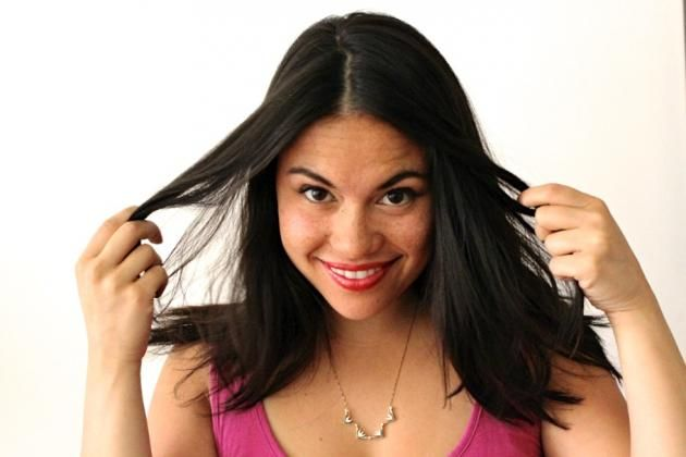 Use apple cider vinegar to give your hair life again. Helps get rid of scummy hard water hair.