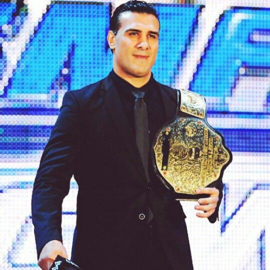 Alberto del Río as World Heavyweight Champion