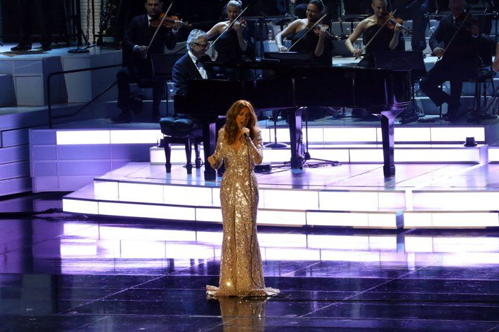 Pin for Later: Celine Dion Makes an Emotional Return to the Stage After Revealing Her Husband's Dying Wish
