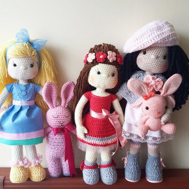Amigurumi Doll Making : 572 best images about Amigurumi dolls 2 on Pinterest ...