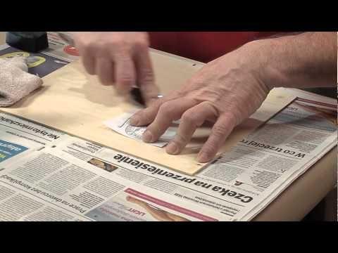 Transfer grafiki i zdjęć na różne materiały bez użycia specjalnych preparatów DIY - YouTube