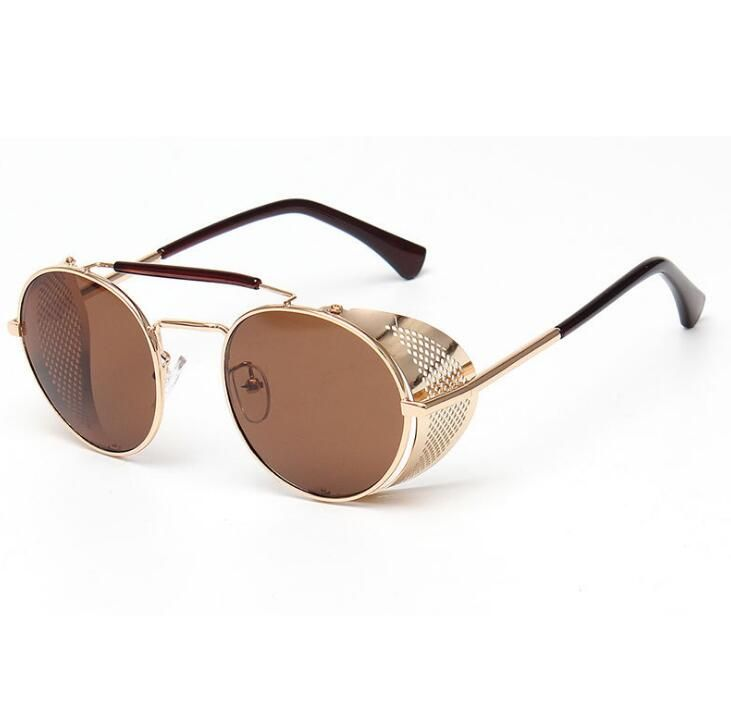 >> Click to Buy << small round STEAMPUNK Sunglasses Womens 2016 Sunglasses Men's Glasses Oculos Steampunk Goggles Sports Metal Female Eyewears #Affiliate
