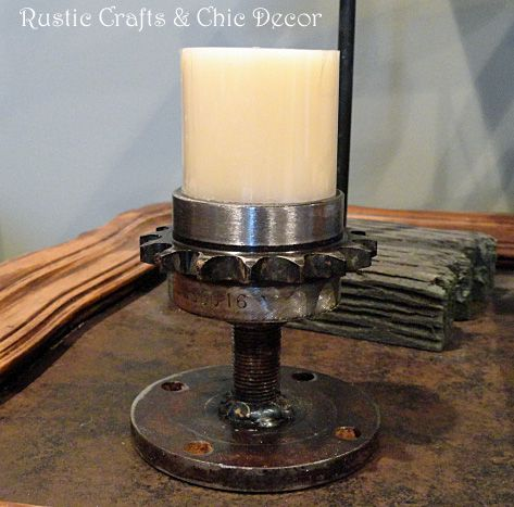 Candle Holders Made From Garage Parts... :: Hometalk