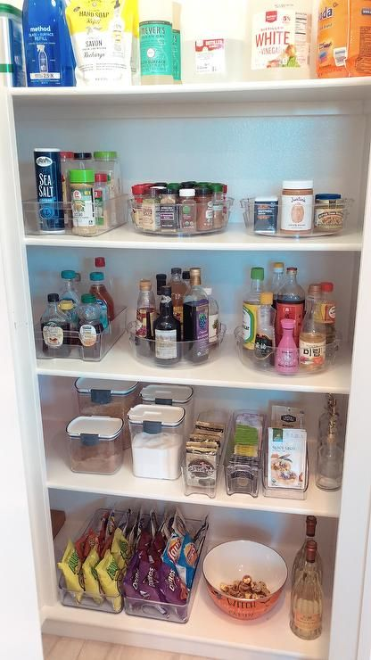 100 Pantry Makeover With Clear Bpa Free Organizers From Homegoods Tjma And Marshalls