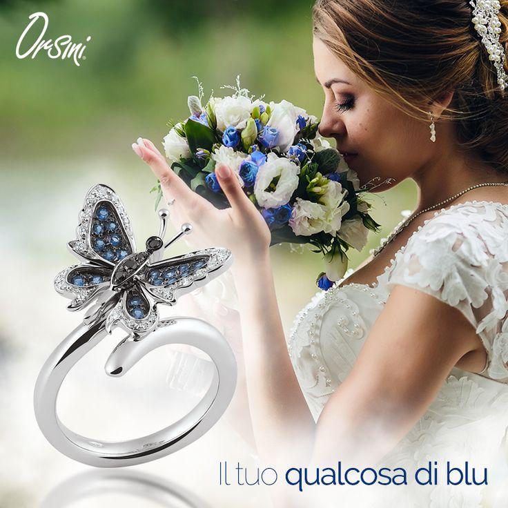 Il tuo #qualcosadiblu potrebbe essere anche #qualcosadinuovo Concediti un gioiello esclusivo per il tuo #weddingday