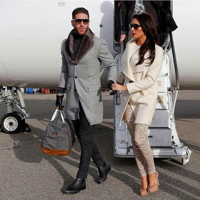 Sergio ramos, Leather gloves and Fur coats on Pinterest