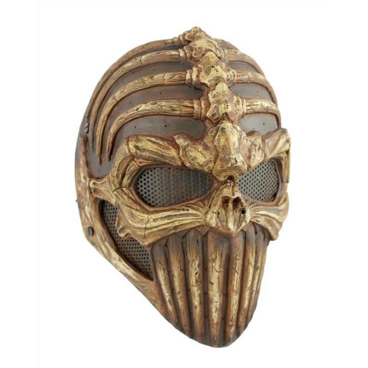 Intimidating paintball masks