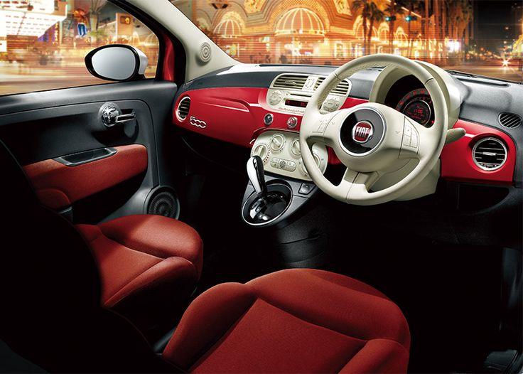 コンパクトカー Fiat 500 Pop チンクエチェント ポップ フィアット チンクエチェント フィアット500