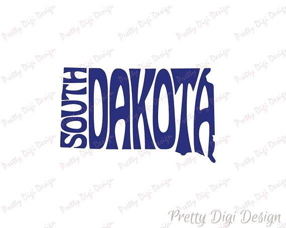 Digital South Dakota Word Art, South Dakota jpg, png, pdf, eps, svg, South Dakota logo design, South Dakota word in map shape