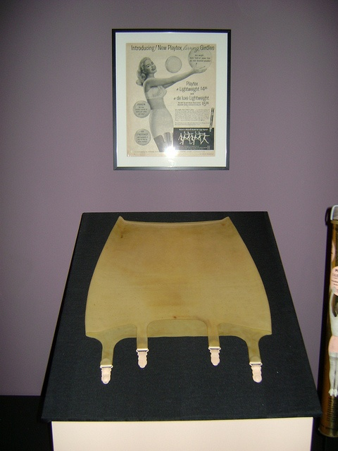 "Playtex Living Girdle, ca. 1950. Check out Stlmag.com's ""Look/Listen"" article on the Underneath It All exhibit."