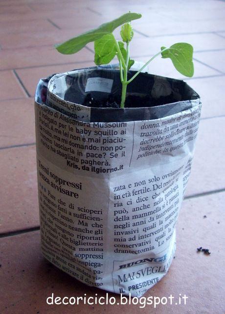 Oltre 25 fantastiche idee su vasi da giardino su pinterest for Vasi per semina