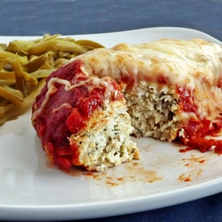 Chicken Parmesan Meatloaf | Meals & Anything to Do with Meals | Pinte ...