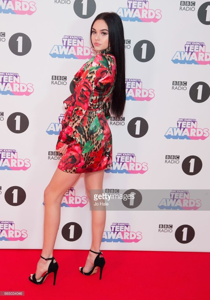 Maggie Lindemann attends the BBC Radio 1 Teen Awards 2017 at Wembley Arena on October 22, 2017 in London, England.